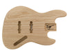 JB BODY 2pc Swamp Ash 2.2 Kg - 828536-Bass Bodies - In Stock-Guitarbuild