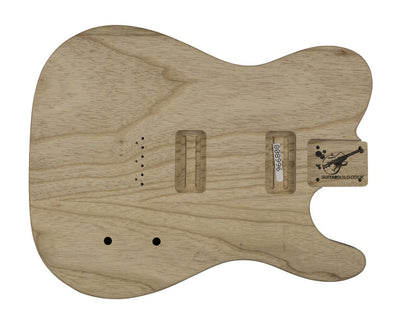 Guitar Bodies - TC BODY 2 pc Swamp Ash 2.1 KG - 808996 - Guitarbuild - 1