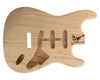 SC SSS BODY - 1960's 3pc Swamp Ash 1.8 Kg - 831543-Guitar Bodies - In Stock-Guitarbuild