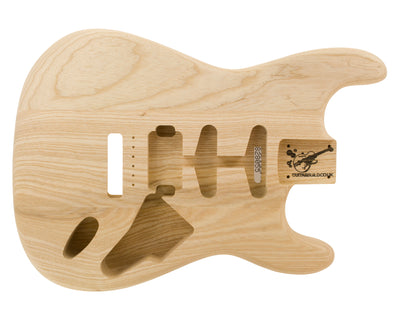 SC BODY 3pc Swamp Ash 1.6 Kg - 828055-Guitar Bodies - In Stock-Guitarbuild