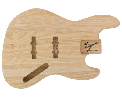 JB BODY 3pc Swamp Ash 2.4 Kg - 825252-Bass Bodies - In Stock-Guitarbuild