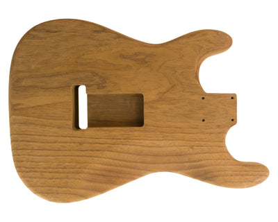 SC SSS BODY 1pc Roasted Swamp Ash 1.6 Kg - 831567-Guitar Bodies - In Stock-Guitarbuild
