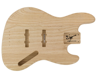 JB BODY 3pc Swamp Ash 2.3 Kg - 825290-Bass Bodies - In Stock-Guitarbuild