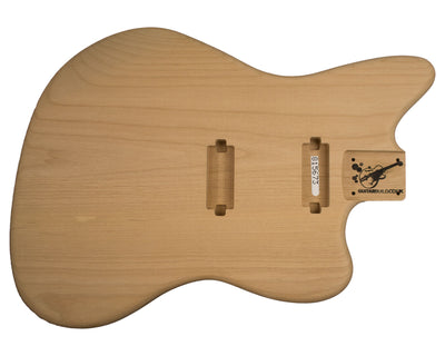 JM BODY 2pc Alder 1.9 Kg - 815673-Guitar Bodies - In Stock-Guitarbuild