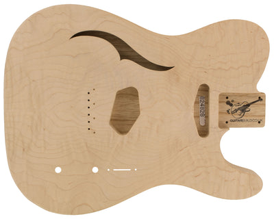 TC BODY 1pc Swamp Ash 1.3 Kg - 824828-Guitar Bodies - In Stock-Guitarbuild