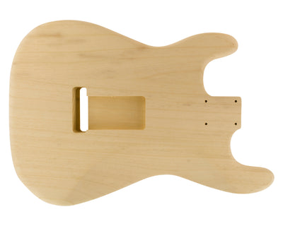 SC SSS BODY 3pc White Limba 1.4 Kg - 831192-Guitar Bodies - In Stock-Guitarbuild