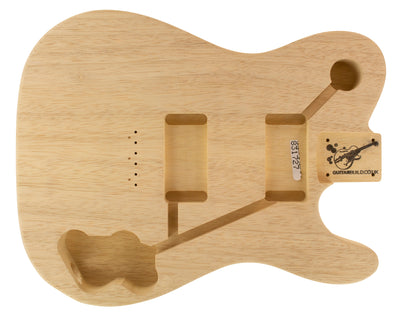 TC BODY - DELUXE 2pc White Limba 1.4 Kg - 831727-Guitar Bodies - In Stock-Guitarbuild