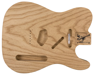 TC BODY 1pc Roasted Swamp Ash 1.8 Kg - 822442-Guitar Bodies - In Stock-Guitarbuild