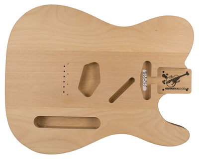 TC BODY 3pc Alder 2.1 Kg - 822572-Guitar Bodies - In Stock-Guitarbuild