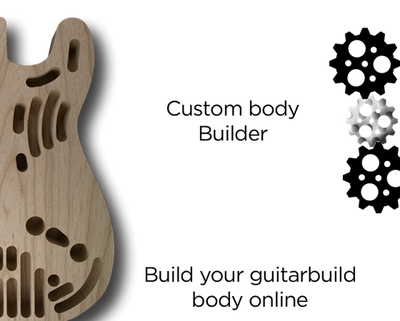 PB CUSTOMISABLE-Bass Bodies - Customisable-Guitarbuild