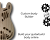 JM CUSTOMISABLE THINLINE-Guitar Bodies - Customisable-Guitarbuild