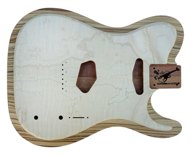 TC SS BODY - carved - laminate top-Guitar Bodies - Standard-Guitarbuild