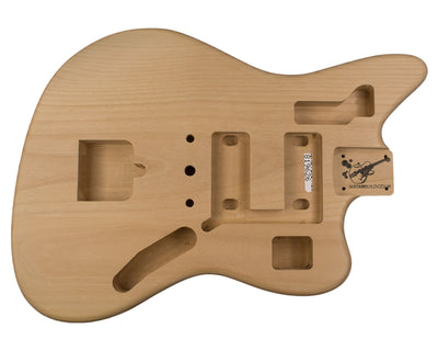 JG BODY 2pc Alder 1.9 Kg - 819626-Guitar Bodies - In Stock-Guitarbuild