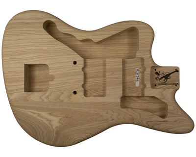 JM BODY 3pc Swamp Ash 2 Kg - 818346-Guitar Bodies - In Stock-Guitarbuild