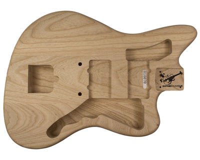 JM BODY 3pc Swamp ash 2.3 Kg - 818070-Guitar Bodies - In Stock-Guitarbuild