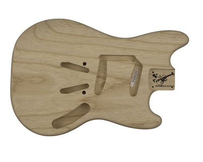 MS BODY 1 pc Swamp Ash 1.9 KG - 809054-Guitar Bodies - In Stock-Guitarbuild
