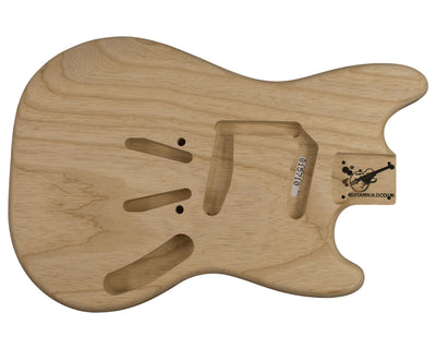 MS BODY 1pc Swamp ash 1.9 Kg - 815710-Guitar Bodies - In Stock-Guitarbuild