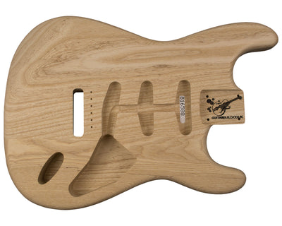 SC BODY 2pc Swamp ash 2.1 Kg - 816588-Guitar Bodies - In Stock-Guitarbuild