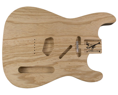 SC BODY 2pc Swamp ash 2.6 Kg - 819503-Guitar Bodies - In Stock-Guitarbuild