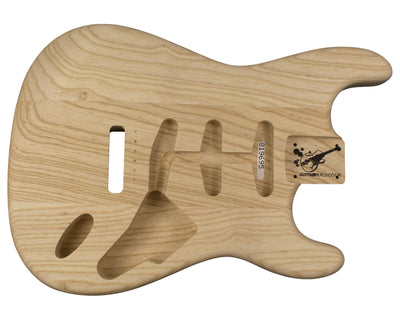 SC BODY 3pc Swamp Ash 1.8 Kg - 819695-Guitar Bodies - In Stock-Guitarbuild