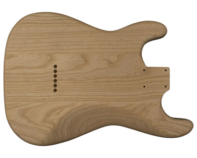 SC BODY 3pc Swamp ash 2.2 Kg - 818544-Guitar Bodies - In Stock-Guitarbuild