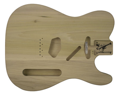 TC BODY 2 pc Poplar 2.4 KG 811453-Guitar Bodies - In Stock-Guitarbuild