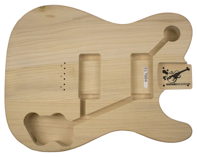 TC BODY 2pc Poplar 2.1 Kg - 817004-Guitar Bodies - In Stock-Guitarbuild