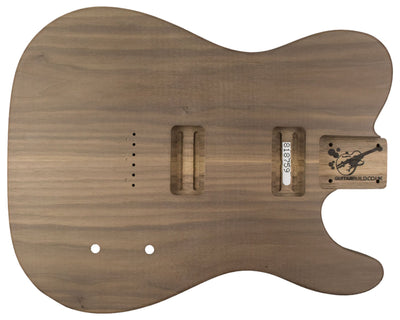TC BODY 2pc Walnut 2.6 Kg - 818759-Guitar Bodies - In Stock-Guitarbuild