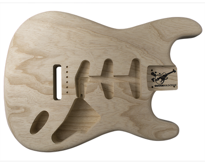 Guitar Bodies - SC SSS BODY  - Chambered                 . - Guitarbuild - 1