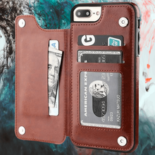 Load image into Gallery viewer, Retro Leather Case Card Holder