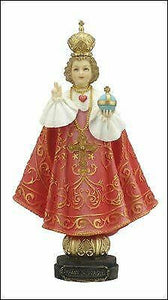 Infant of Prague Statue Jesus Statue Religious Ornament Sculpture Veronese
