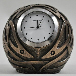 Celtic Design Bronze Ball Shaped Clock Bronze Ornament Sculpture