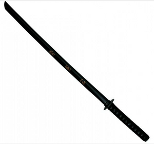 Black Bokken Training Samurai Wooden Sword Martial Arts Iaido Training Gift
