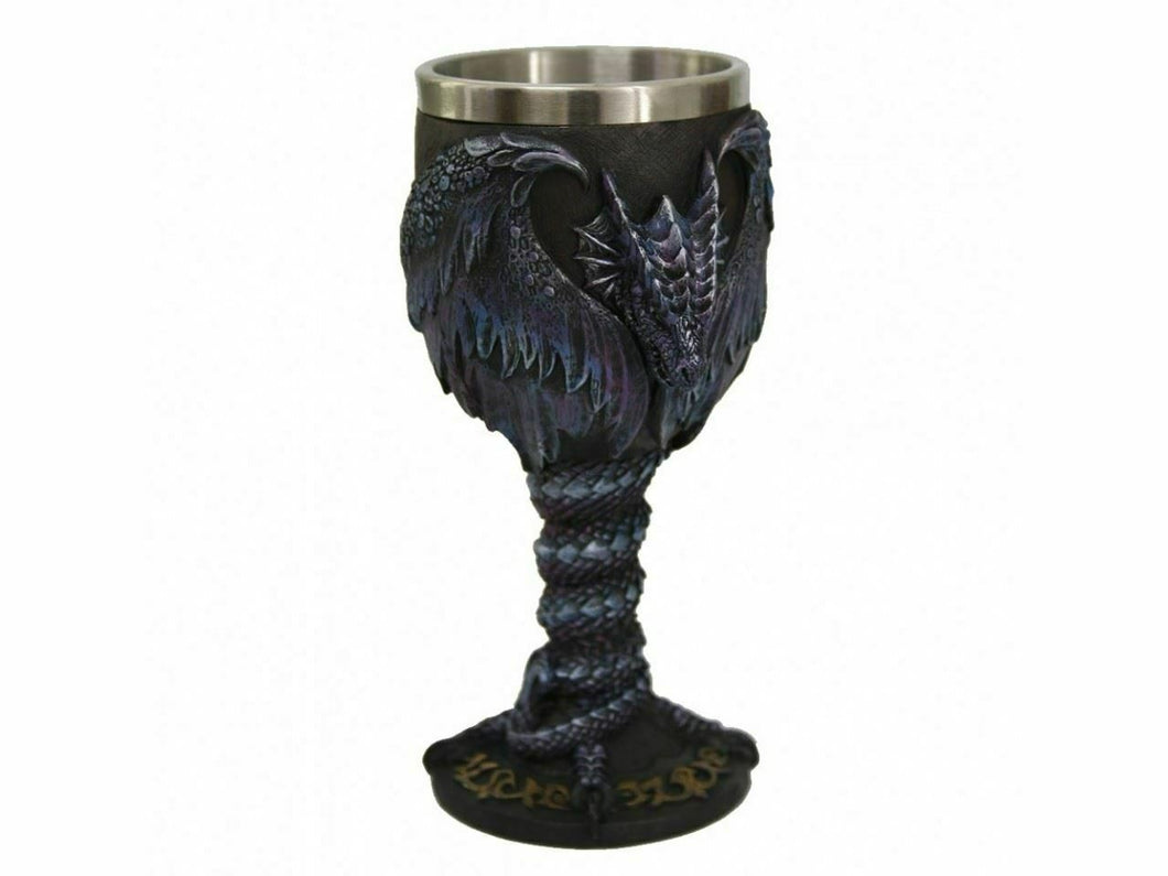Draconic Kingdom Goblet Chalice Fantasy Decoration Ornament