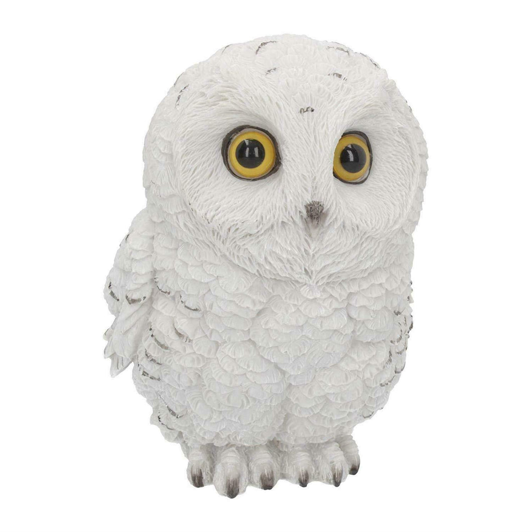 Novelty Snowy Owl Sculpture Statue Ornament Owls Lovers Gift