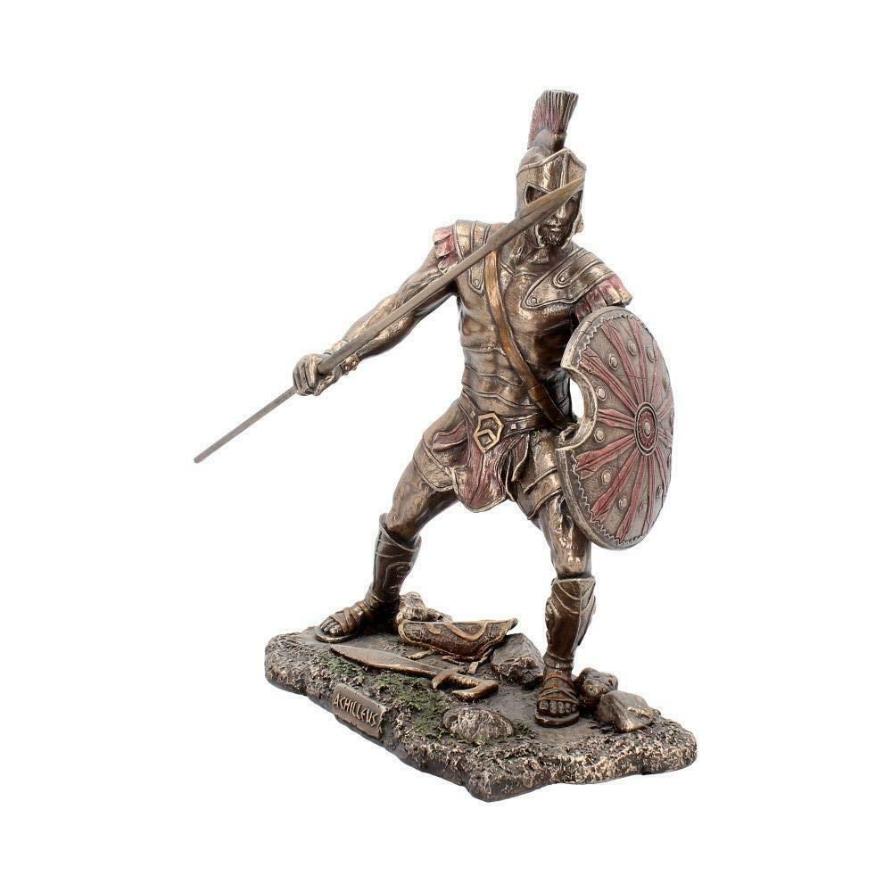 Achilles  Achilleus Greek Warrior Statue Figurine Sculpture Ornament