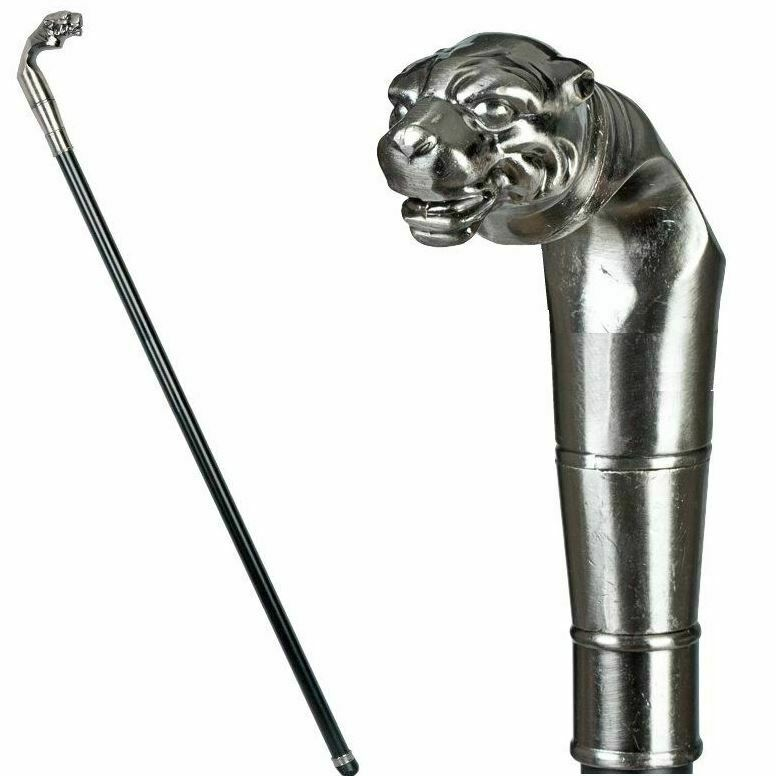 Tiger Swaggering Cane Cosplay Fancy Dress Walking Stick