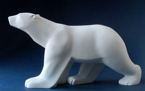 Large Polar Bear Art Sculpture Statue Pompon Museum Reproduction Gift Idea
