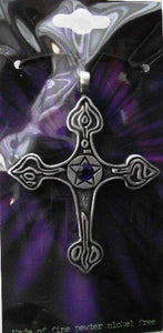 Mystic Cross Pendant Amulet Necklace Talisman