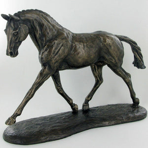 Harriet Glen Bronze Effect Horse Sculpture Statue Ornament
