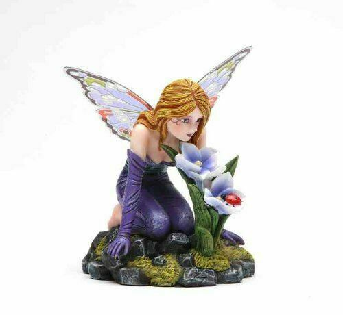 Butterfly Winged Fairy Figurine Statue Ornament Fantasy Figure Gift