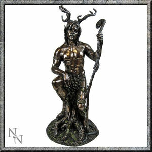 Herne the Hunter Bronze Effect Statue Figurine Sculpture Wiccan Pagan