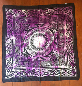 Celtic Altar Tarot Cloth Cotton Wicca Pagan Altar Decoration
