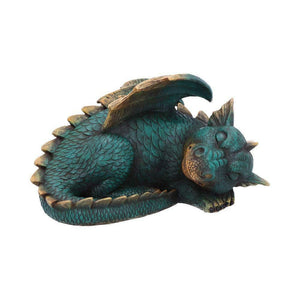 Magical Sculpture Sleeping Dragon Figurine Resin Ornament Figure Dragons Gifts