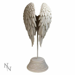 Beautiful Angel Wings Peace Figurine Remembrance Ornament Heavenly Statue