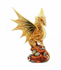 Desert Dragon Guarding Eggs Figurine Statue Anne Stokes Sculpture Ornament