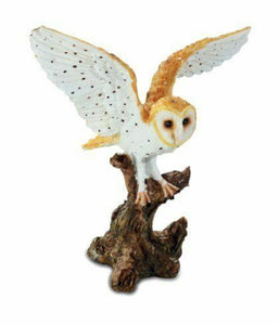 Novelty Owl Taking Flight Figurine Sculpture Ornament Ideal Gift for Owls Fans