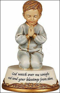 Baptism Christening Baby Present for a Boy Statue Ornament Blessings
