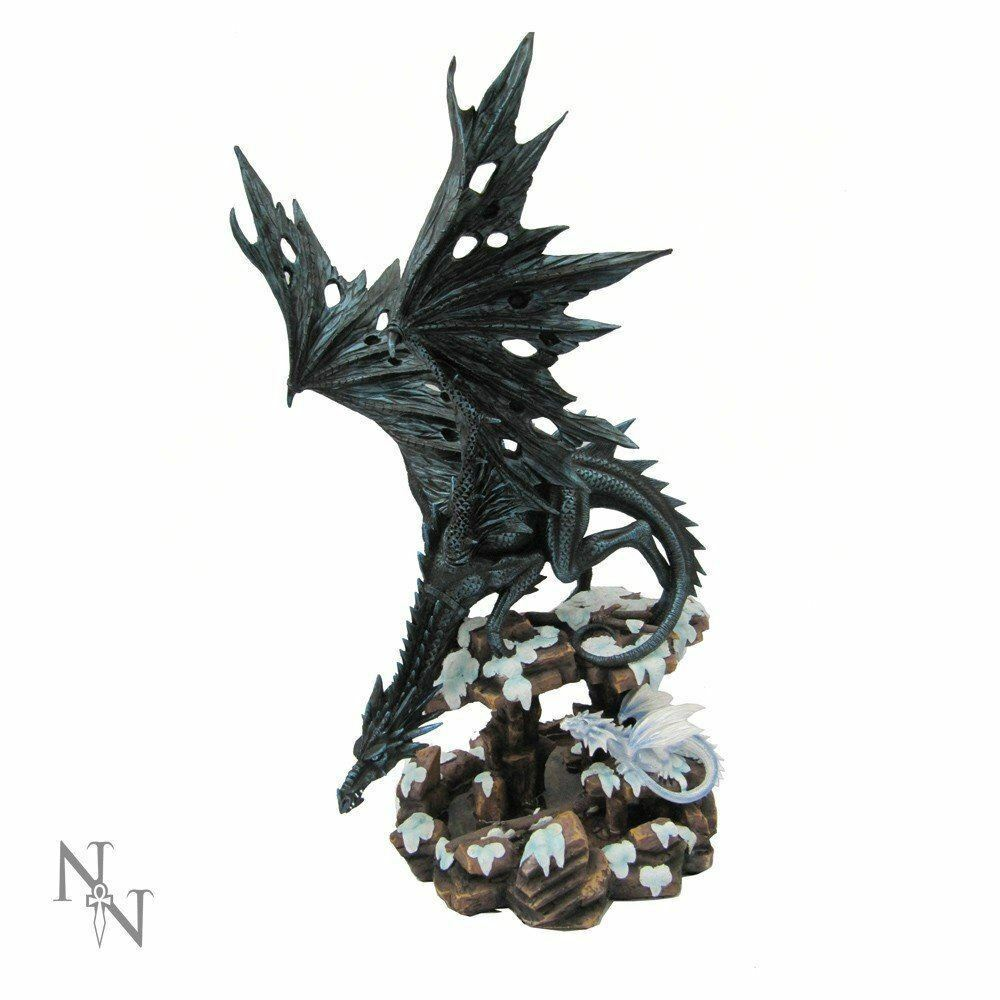 Dragons Wisdom Figurine Statue Ornament 47cm