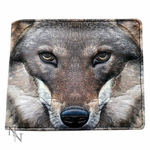 Portrait Of A Wolf - Mens Wallet - Wolf Wallet - By Nemesis Now